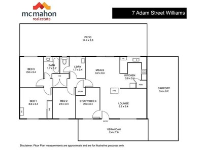 Property for sale in Williams : McMahon Real Estate