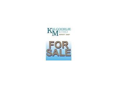 Property for sale in West Kalgoorlie : Kalgoorlie Metro Property Group